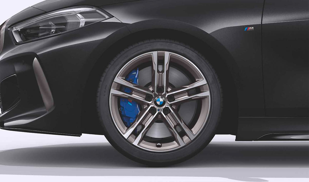 Легкосплавное дисковое колесо (сдвоенные спицы) 556M для BMW 1 Series F40