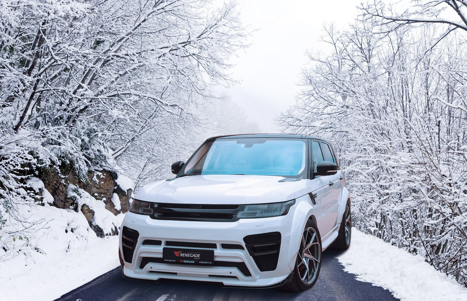 Обвес Renegade для Range Rover Sport