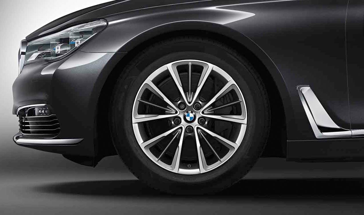 Легкосплавное дисковое колесо (W-образные спицы) 643 для BMW 7 Series G11/G12 LCI