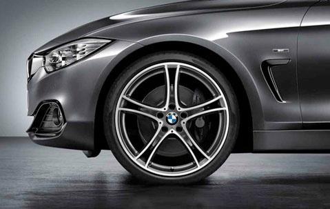 Легкосплавный колесный диск (сдвоенные спицы) 361 для BMW 1 Series F20/F21