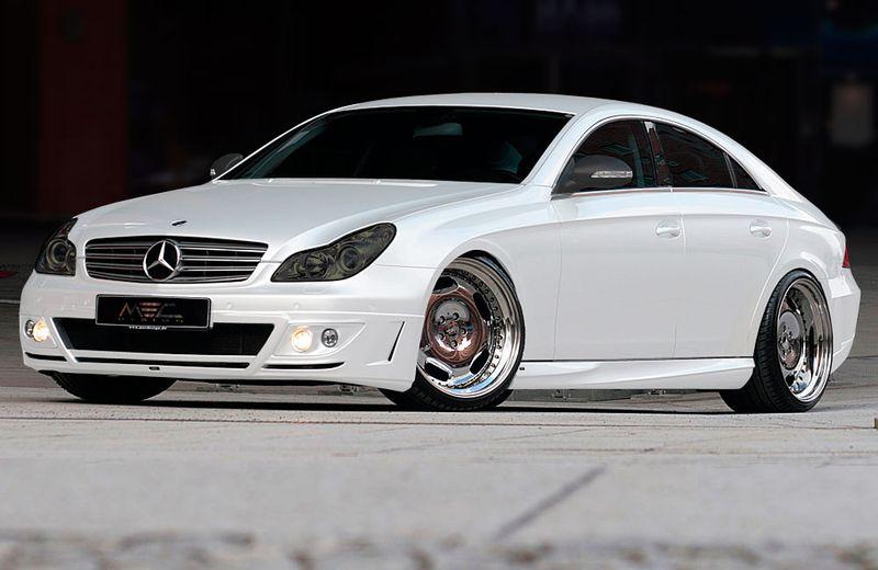 Аэродинамический обвес MEC Design для Mercedes CLS-class C219