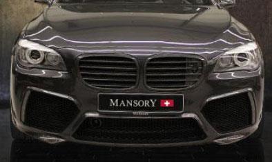 Передний бампер (с LED-оптикой) Mansory для BMW 7-Series F01/F02