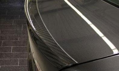 Спойлер на крышку багажника (карбон) Mansory для BMW 7-Series F01/F02