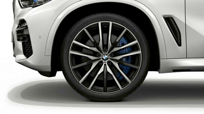 Легкосплавное дисковое колесо (сдвоенные спицы) 742M для BMW X6 G06