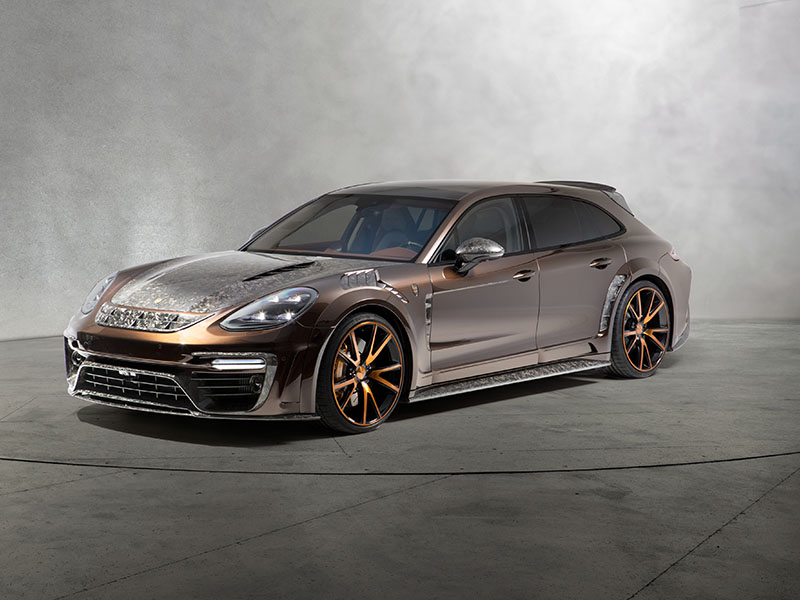 Обвес Mansory для Porsche Panamera Sport Turismo