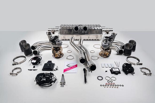 Тюнинг выхлопной системы TechArt для Porsche Cayenne E3