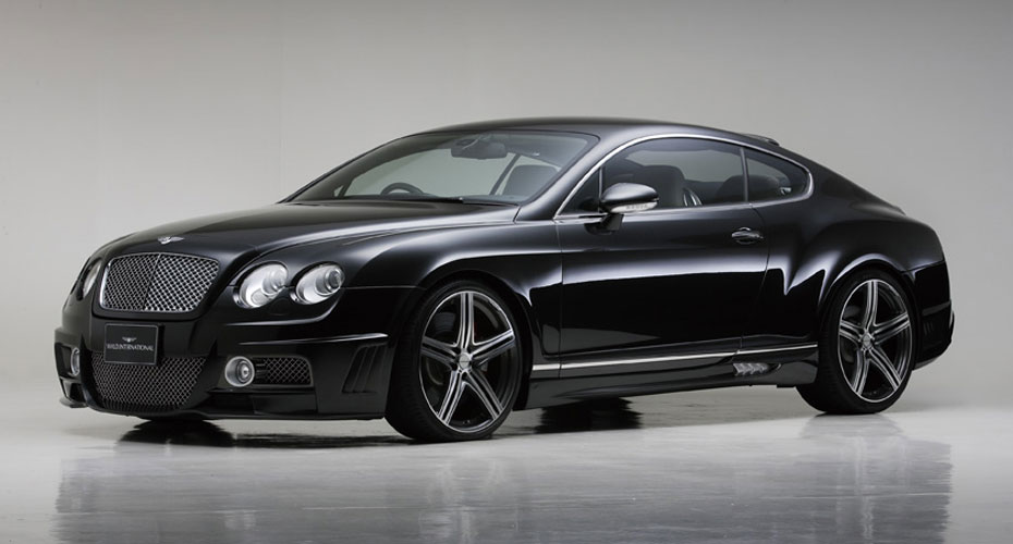 Тюнинг WALD Black Bison для Bentley Continental GT