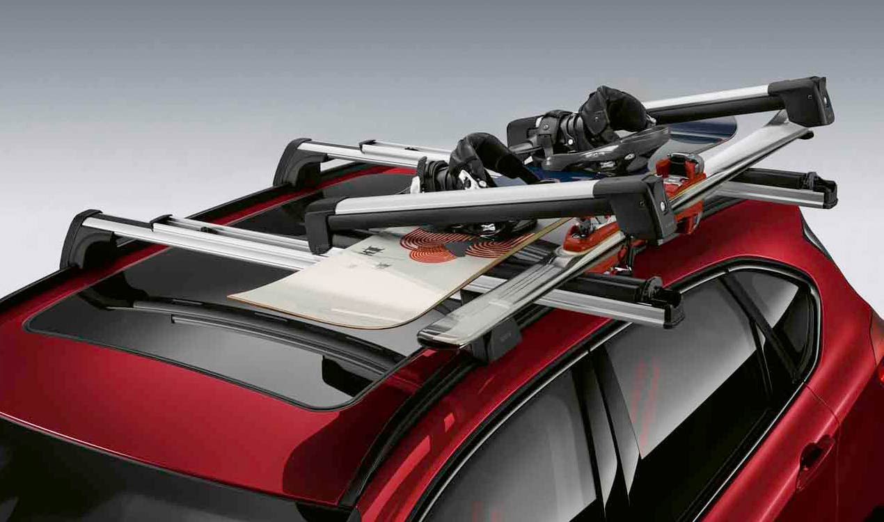 Крепление для лыж и сноуборда (выдвижное) для BMW X6 F16