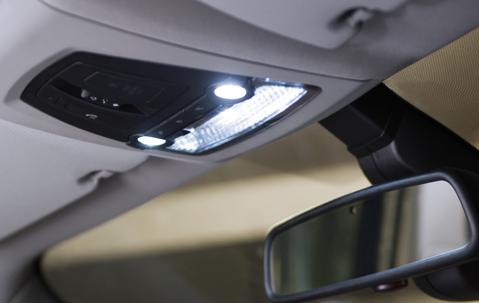 Светодиодное освещение салона (4-й комплект) для BMW X6 F16