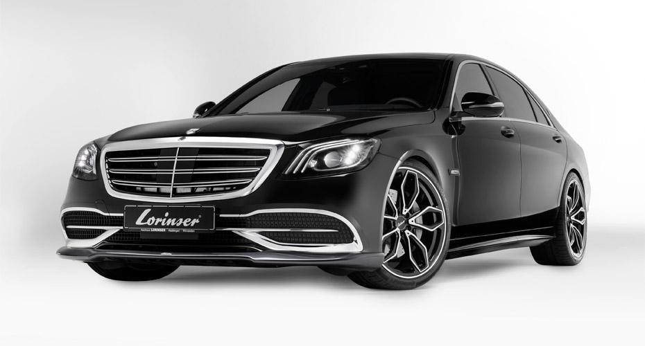 Аэродинамический обвес Lorinser (рестайлинг) для Mercedes Maybach S-class W222