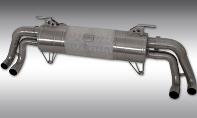 Выхлопная система (без регулировки уровня звука) Novitec для Lamborghini Huracan LP 610