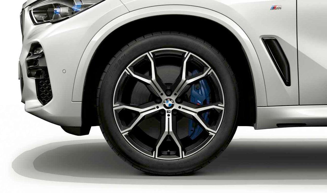 Легкосплавный колесный диск (Y-образные спицы) 741M для BMW X5 G05