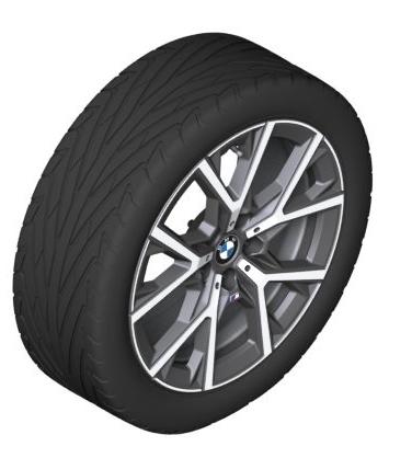 Легкосплавный колесный диск (Y-образные спицы) 553M для BMW 1 Series F40