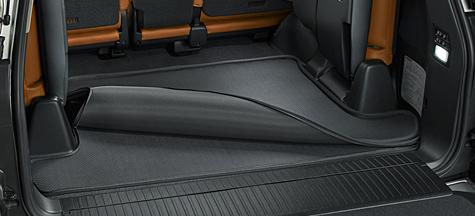Влагостойкий коврик в багажник Lexus LX 2015+