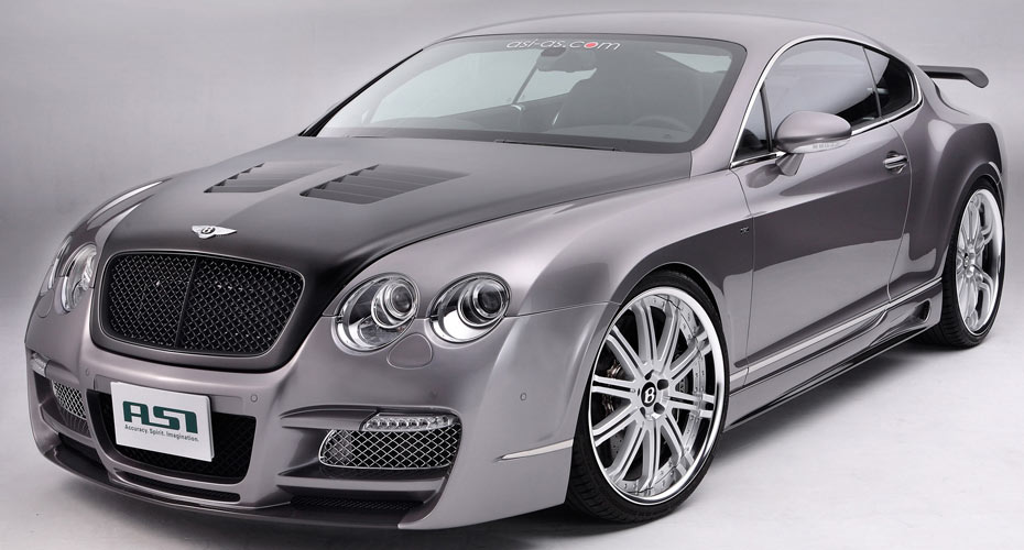 Тюнинг ASI для Bentley Continental GT