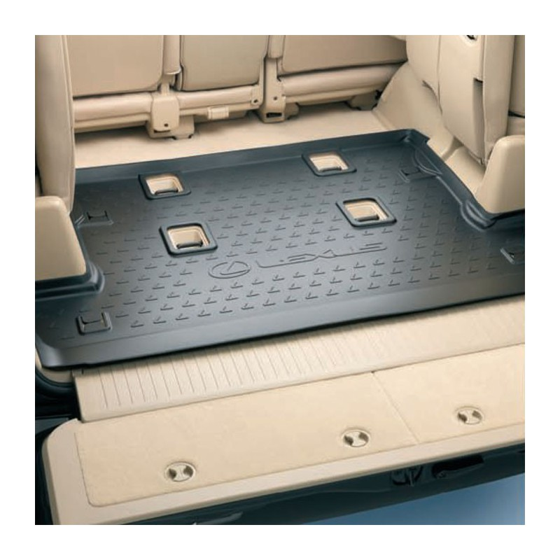 Резиновый коврик в багажное отделение LEXUS LX570 LX450D