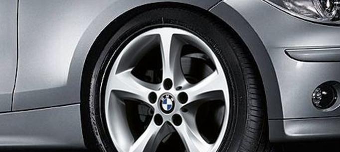 Легкосплавное дисковое колесо (звездообразные спицы) 256 для BMW 1 Series E81/E87