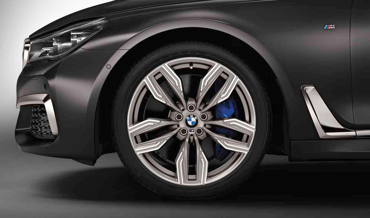 Легкосплавное дисковое колесо (сдвоенные спицы) 760 M для BMW 7 Series G11/G12 LCI