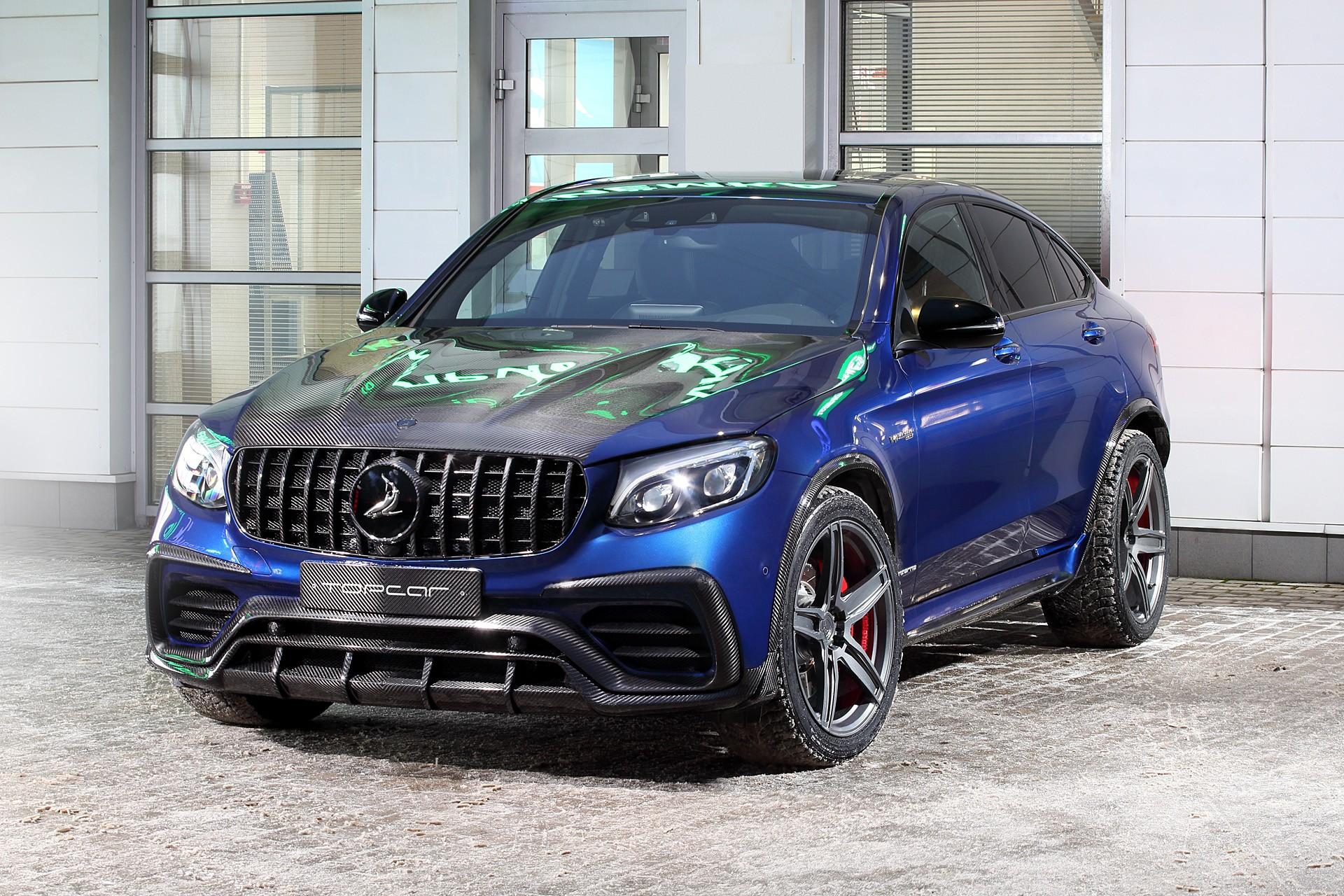 Тюнинг TopCar Inferno для Mercedes GLC-class Coupe