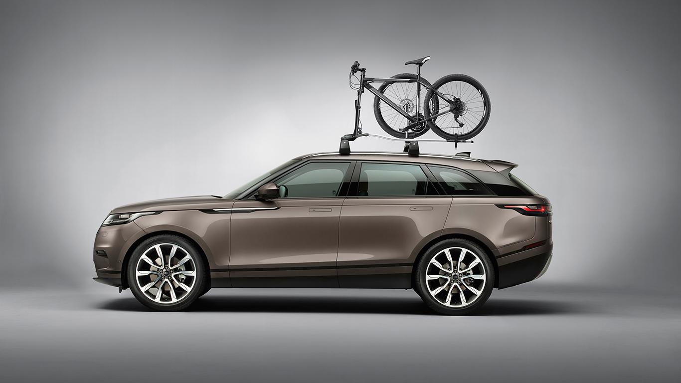 Крепление для перевозки велосипеда за вилку и колесо для Range Rover Evoque