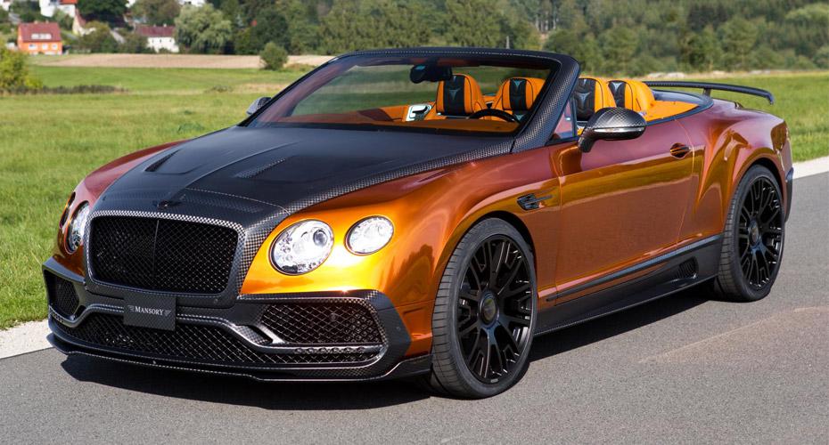 Тюнинг Mansory для Bentley Continental GT II