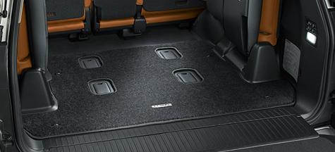 Коврик в багажник стандарт Lexus LX 2015+