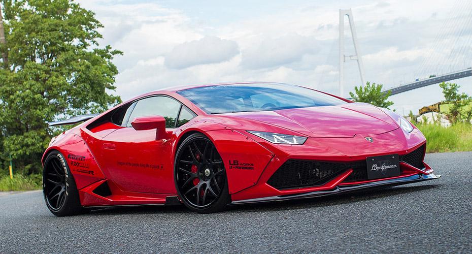 Обвес Liberty Walk для Lamborghini Huracan