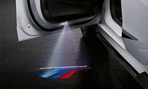 Проекция на асфальт M Performance для BMW 1 Series F40