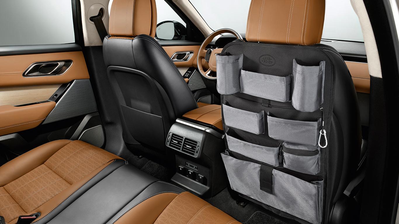 Система хранения на спинках передних сидений для Range Rover Evoque