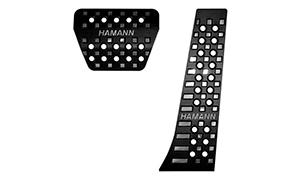 Накладки на педали (черные) Hamann для BMW X7 G07