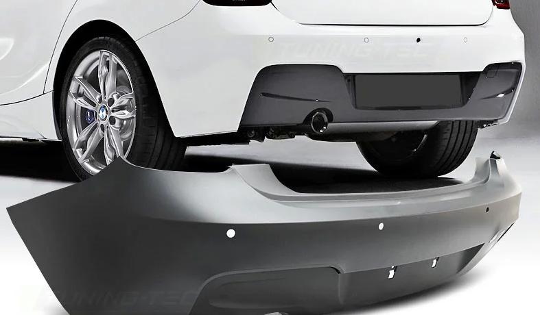 Задний бампер M-Sport (рестайлинг) для BMW 1 Series F20