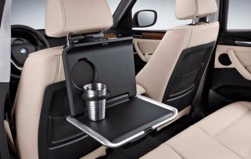 Накопительный стол (черный) Travel & Comfort для BMW X6 F16