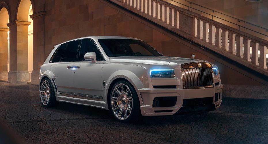 Обвес Novitec для Rolls-Royce Cullinan