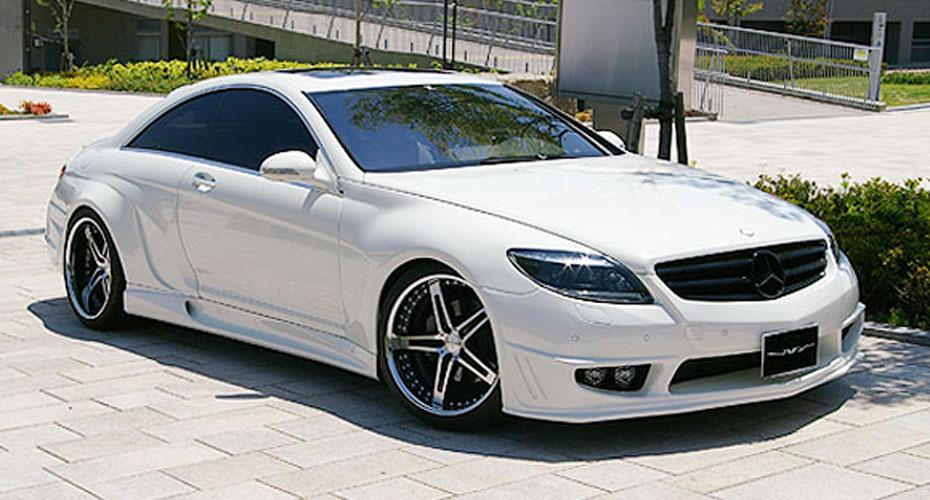 Аэродинамический обвес VITT Super Wide Version для Mercedes S-class Coupe C216