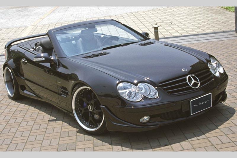 Аэродинамический обвес VITT Wide Edition для Mercedes SL-class R230