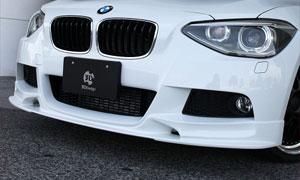 Спойлер переднего бампера (под покраску) 3D Design M Sport для BMW 1 Series F20