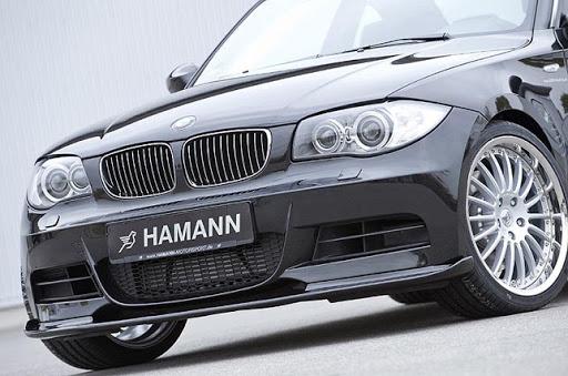 Накладка на передний бампер Hamann для BMW 1 Series E82