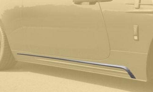 Накладки на пороги (карбон) Mansory для Rolls-Royce Wraith