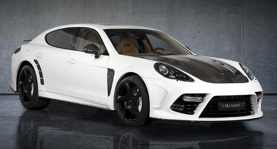 Обвес Mansory (видимый карбон) для Porsche Panamera 970