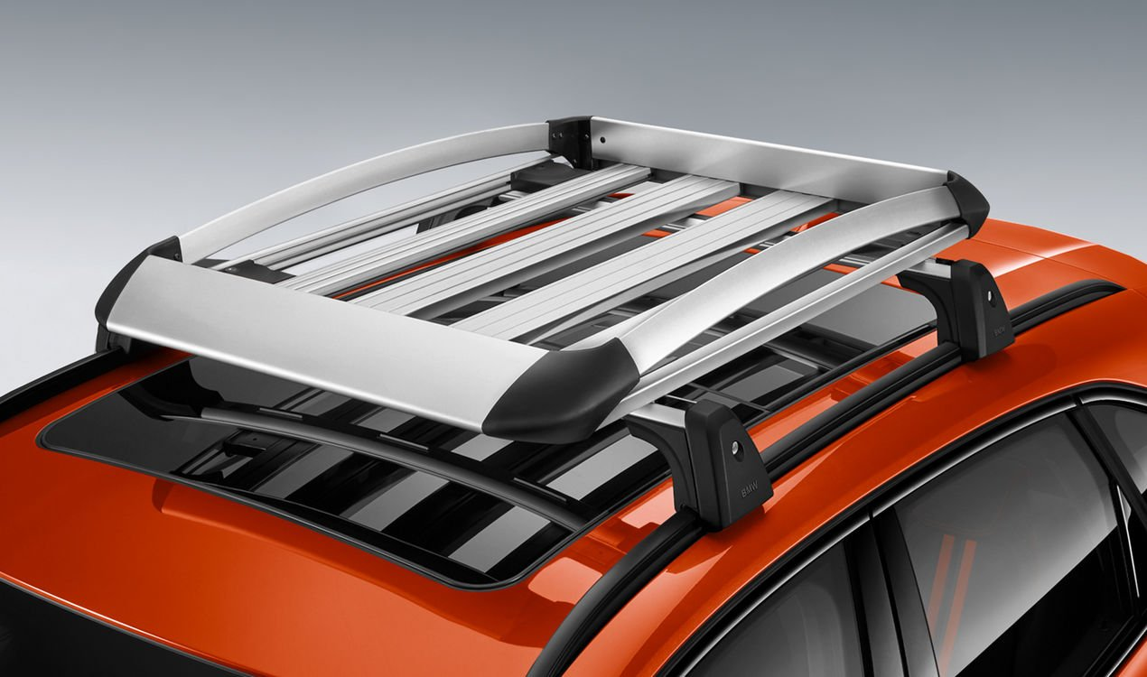 Багажный контейнер (алюминий) для BMW 1 Series E81/E87