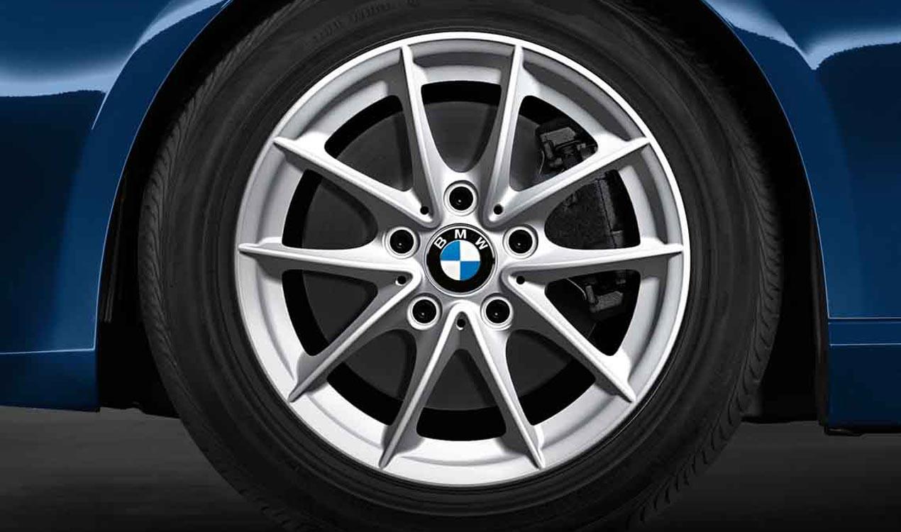 Легкосплавное дисковое колесо (V-образные спицы) 360 для BMW 1 Series E81/E87