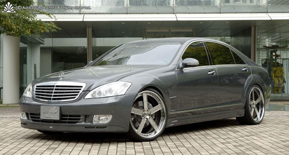 Аэродинамический обвес Auto Couture для Mercedes S-class W221