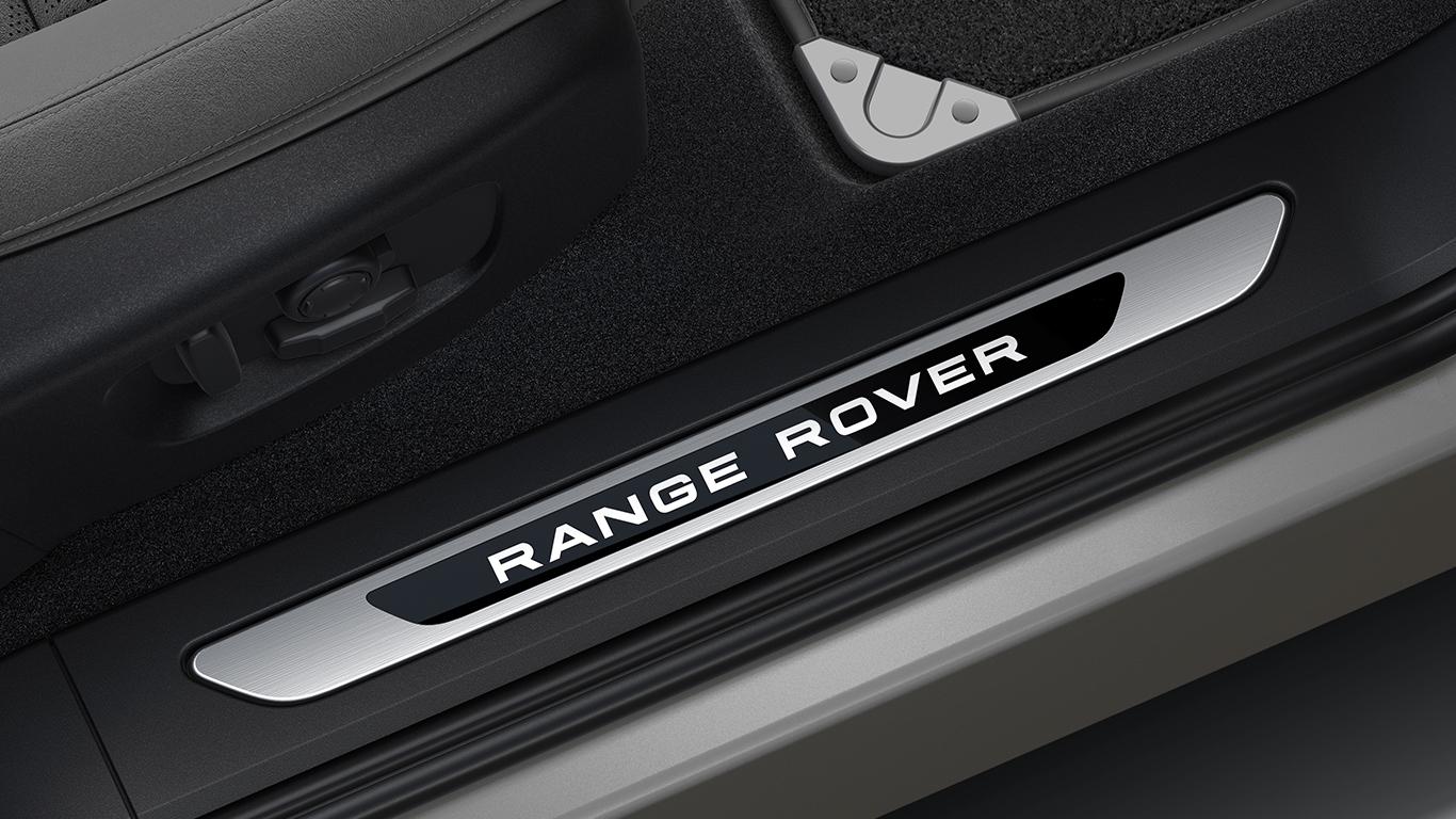 Накладка передней левой двери с подсветкой для Range Rover Evoque