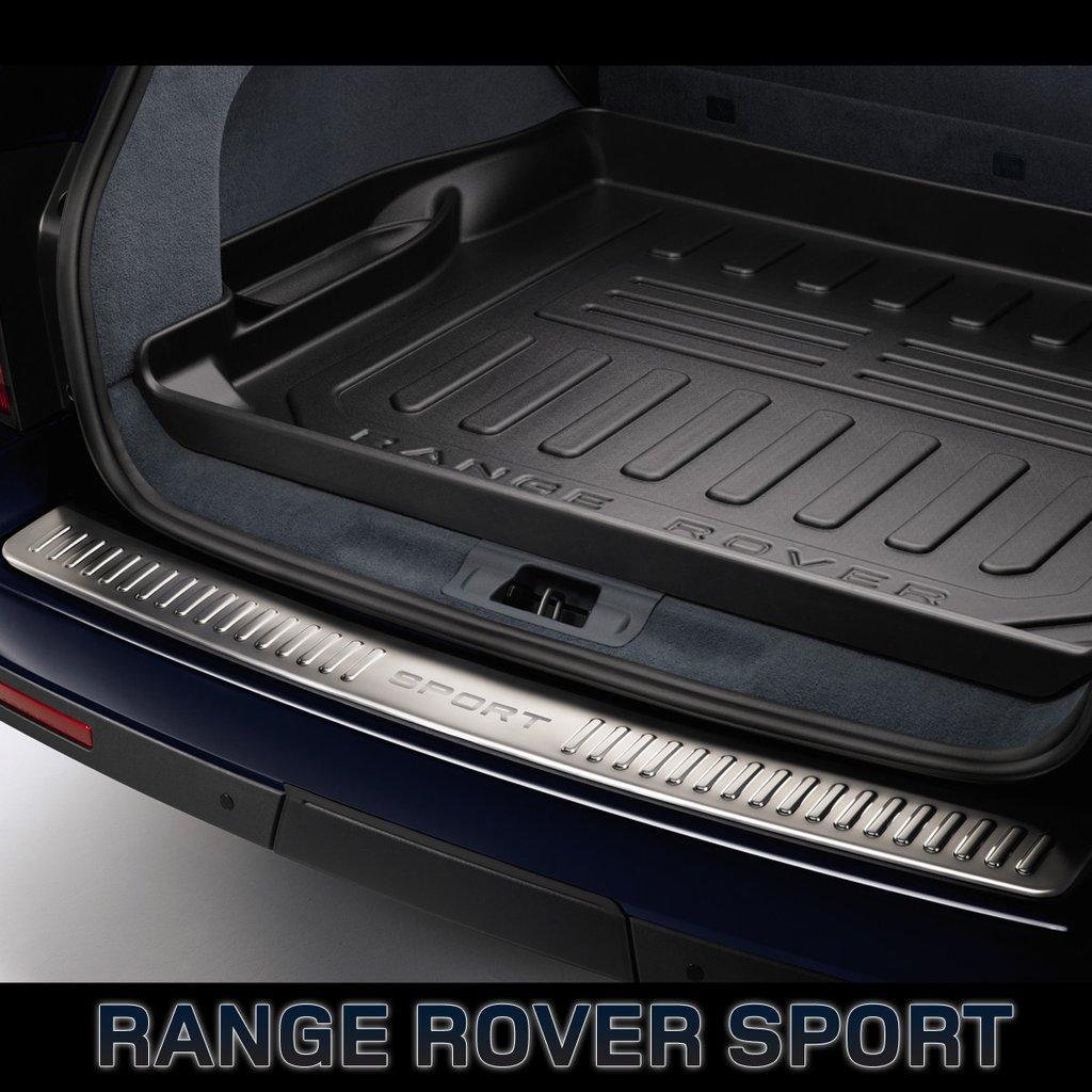 Резиновый ковер багажного отделения c бортами для Range Rover Sport 2010-2014