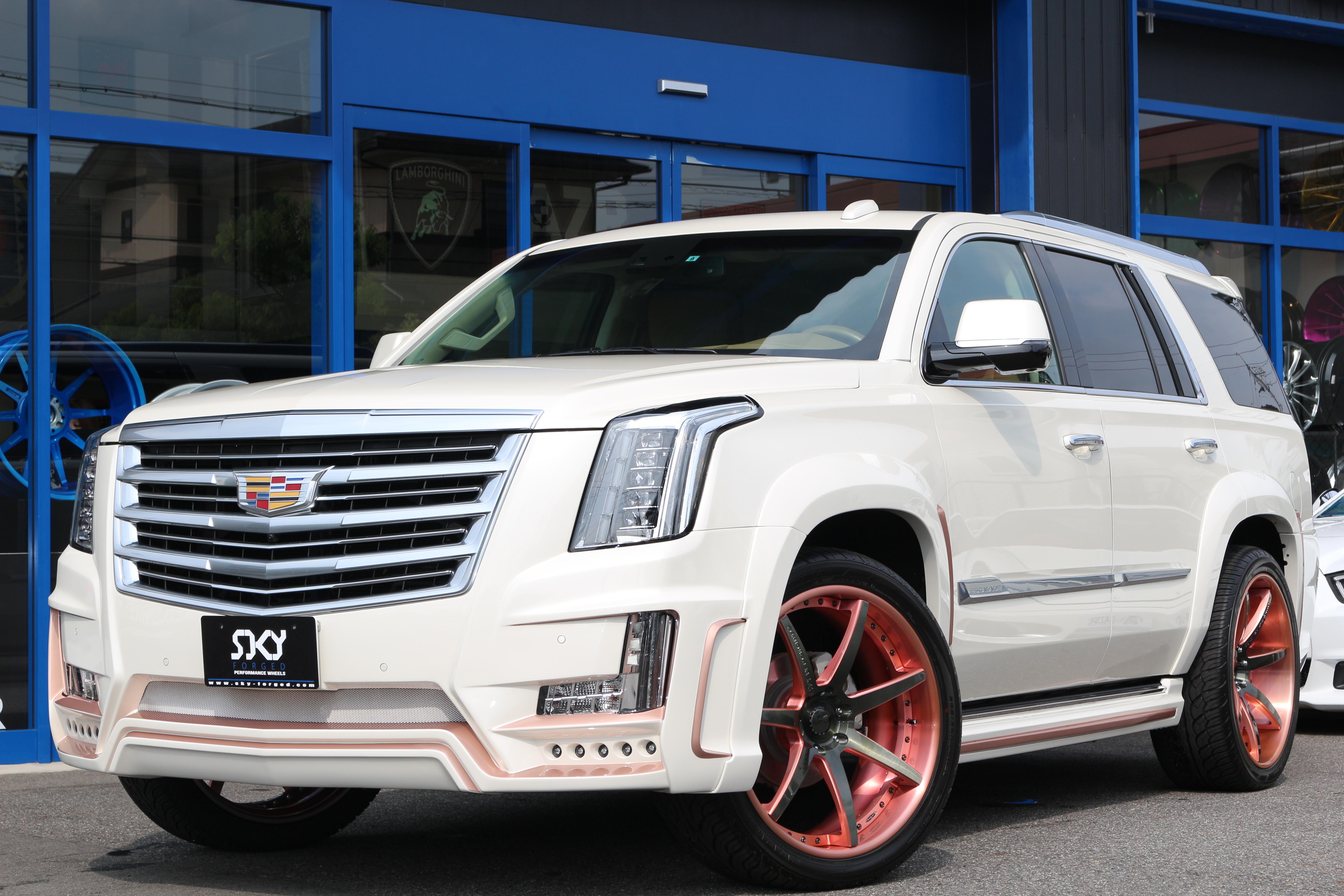 Обвес Zero Design для Cadillac Escalade Ver1