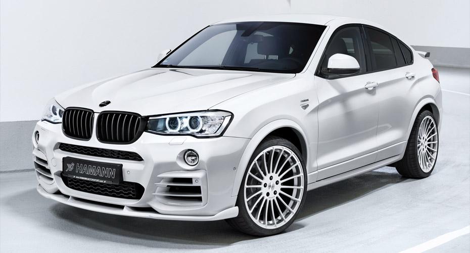 Тюнинг Hamann для BMW X4 F26