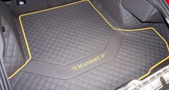 Багажные коврики с логотипом (велюр) Mansory для Porsche Panamera Sport Turismo