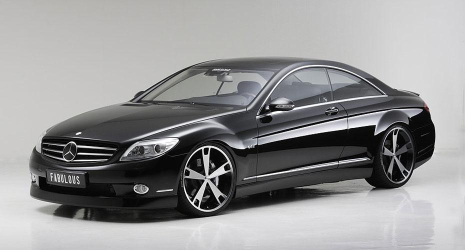 Аэродинамический обвес Fabulous для Mercedes S-class Coupe C216