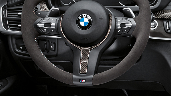 Крышка рулевого колеса (светодиод / карбон) M Performance для BMW 1 Series F40