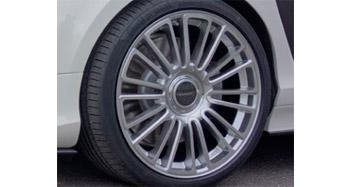 Легкосплавный колесный диск CS.10 R22 (сдвоенные спицы) Mansory для Porsche Panamera Sport Turismo